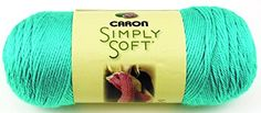 Caron Simply Soft Brites Yarn 6 Ounces315 Yards Blue Mint Single Ball >>> Visit the image link more details. Note:It is affiliate link to Amazon.