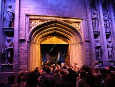 Inside, it's all there. The doors open, and you're in the Great Hall. | What It's Like When A Harry Potter Fan Makes The Journey To London