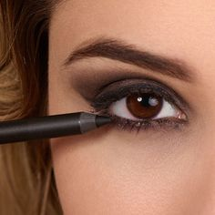Black Velvet Eyeliner by exurbe cosmetics is a water-resistant eye contour contour pen. Black Velvet, Contour Pen, Eyeliner, Cosmetics, Vegans, Beauty Products, Eye Liner