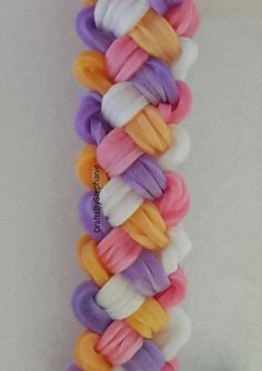 Woved/Braided Rubber Band Bracelet                                                                                                                                                                                 More