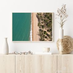 This picture shows an aerial view of the shore on the adventurous Magnetic Island, Australia. Photography Pricing, Drone Photography, Beach Photography, Australia Pictures, Beach Print, High Resolution Picture, Frame Sizes, Aerial View, Picture Show