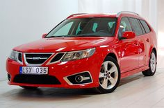 Saab 9-3 Griffin Wagon Red