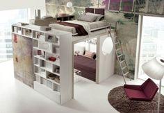 Stunning Letto Con Armadio Sotto Contemporary - Amazing House Design ...