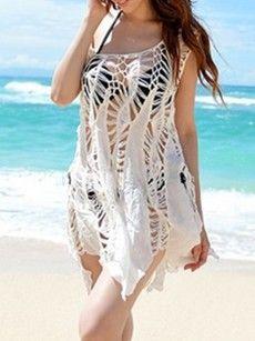 Fashionmia mesh swimsuit cover ups - Fashionmia.com