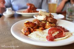 Eggs, Bacon and Potatoes at A.O.C. (Los Angeles, CA). #UniqueEats #breakfast