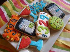 iPhone cookies by Kiwi's Kookies