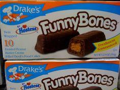 Drake's Cakes Funny Bones