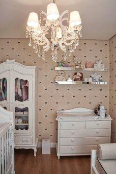 Quarto de bebê encanta pelo charme e delicadeza -