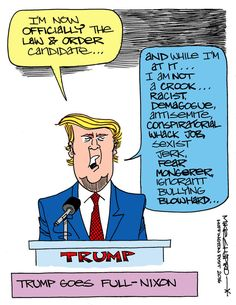 Trump Goes Full Nixon