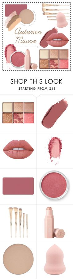 """""""Autumn Mauve"""" by lyricalbuddha ❤ liked on Polyvore featuring beauty, Hourglass Cosmetics, Ilia, Lime Crime, SkinCare, MAKE UP FOR EVER, Bare Escentuals, Forever 21 and Puma"""