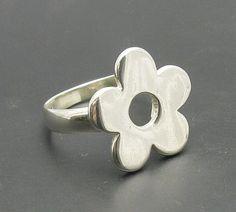 Sterling silver ring solid 925 Flower R000475 Empress #Empress