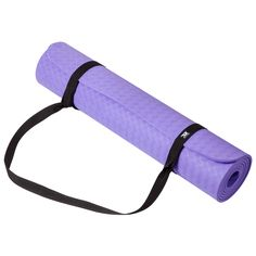 JR Professional 6mm Yoga Exercise Mat with Carrying Strap. Eco TPE Material, Non Toxic, Latex Free, PVC Free,Healthy and Safe. Textured Lines Design Surface,Ultimate Grip,Non Slip, Excellent Traction. Good Elasticity and Top performance, NO Edge Curling When Open It on Floor, Non Grooves even after hundreds times reuse. Performs better than a thicker competitor due to its denser,Lifetime Durable. Ideal for yoga, pilates,Fitness, Gym training, stretching and toning workouts.