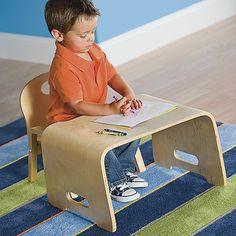 One Step Ahead - Kids' Steam Bent Wood Desk and Chair One Step Ahead http://www.amazon.com/dp/B00I9DPILQ/ref=cm_sw_r_pi_dp_y-U0tb0GW2GR2A18