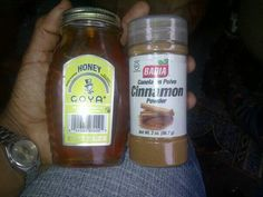 Cinnamon and honey cure