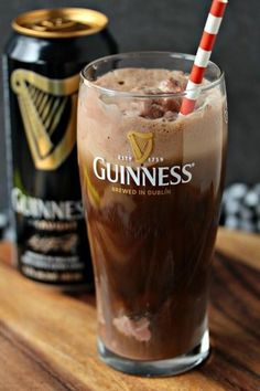 Chocolate Guinness Float Picture