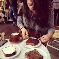Yeah, we're serious about our toast, too (here's writer Danielle Walsh actually measuring her toast at The Mill)