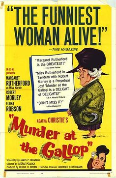 Murder At The Gallop - Margaret Rutherford as Miss Marple
