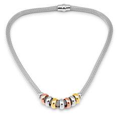 Elegantní náhrdelník West Side z chirurgické oceli West Side, Beaded Necklace, Jewelry, Beaded Collar, Jewlery, Pearl Necklace, Jewerly, Schmuck, Beaded Necklaces