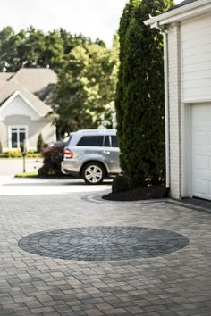 Cottagestone Textured #paver (Color: Slate and Chesapeake.)