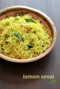 Lemon Sevai Recipe, Easy Lemon Idiyappam