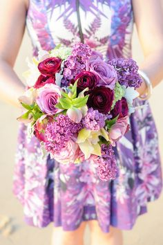 Pretty in Purple // Photography by http://jilske.com