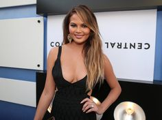 LOS ANGELES, CA - MARCH 14:  Model Chrissy Teigen attends The Comedy Central Roast of Justin Bieber at Sony Pictures Studios on March 14, 2015 in Los Angeles, California.  (Photo by Christopher Polk/Getty Images) via @AOL_Lifestyle Read more: http://www.aol.com/article/2016/05/09/chrissy-teigen-is-now-getting-hate-for-looking-too-good-as-a-new/21374043/?a_dgi=aolshare_pinterest#fullscreen