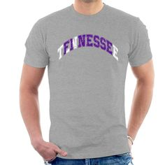 Shop Tennessee Finesse American State Shirt Men's T-Shirt. Slogan Design, Funny Slogans, Mens Tees, Tennessee, Heather Grey, American, Sweatshirts, T Shirt, Clothes