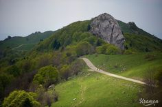 Col du Grand Colombier, France. Now what #cyclist wouldn't want to ride there. Looks great, and no cars either.