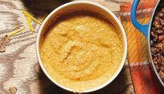 Creme aus Paprika und Mandelmus
