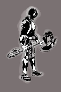 Mighty Morphin Black Ranger by mikethewolf on @DeviantArt