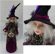 Halloween Witch Decoration or Tree Topper OOAK Art Doll New Holiday Decor…http://www.ebay.com/itm/Halloween-Witch-Decoration-or-Tree-Topper-OOAK-Art-Doll-New-Holiday-Decor-/152253576459?ssPageName=STRK:MESE:IT