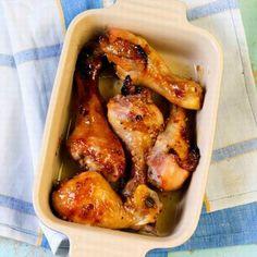 Mézes csirkecombok egyszerűen Recept képpel - Mindmegette.hu - Receptek