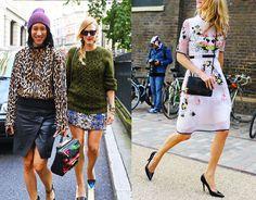 Tendencias de streetstyle en la semana de la Moda de Londres