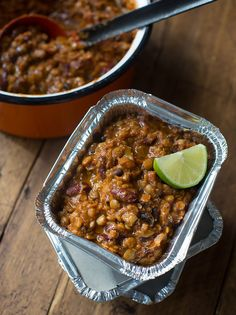 Chilli Con Veggie | Family Basics | Jamie Oliver (could add sweet pot instead of all the lentils, or half meat to balance protein and carb)