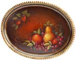 Peter Ompir Fruit Tray project from DecoArt Primitive Painting, Tole Painting, John Dunn, Jonathan Kellerman, Painting Patterns, Beautiful Paintings, The Help, Serving Bowls, Art Decor