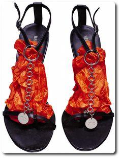 Helmut Lang Chain Sandals