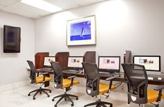 Handle business or access the web in our new and improved business center.