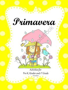 Primavera from A La Escuelita on TeachersNotebook.com -  (70 pages)  - Primavera is an ideal theme for the month of April. The activities included are hands-on, fun, and engaging.