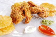 How to Fry Chicken Wings -- via wikiHow.com