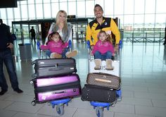 Constantinos Charalambides family travel with APOEL