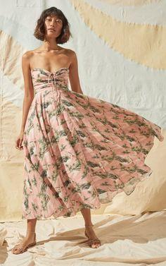 Maidstone Voile Midi Dress By Cara Cara   Moda Operandi