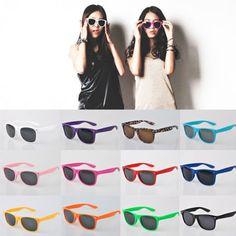 New Womens Mens Sunglasses Fashion Retro Stylish Designer Vintage Shades Glasses #Unbaranded #Aviator