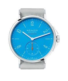 Nomos Ahoi neomaik signalblau - #watchtime #nomos #watchnerd