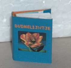 Thumbelina by H.C. Andersen. {Tiny book. BEAUTIFUL color pictures inside tiny print book}