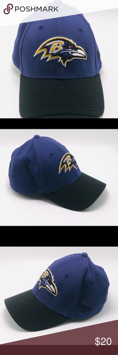 a4fb13b6c921 New Era 39Thirty NFL Team Ravens Fitted Cap Make sure you ve got the perfect
