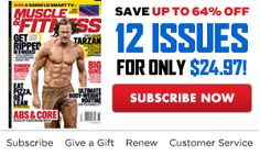 Subscribe to Muscle and Fitness