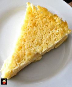 This Lemon Impossible Pie is an incredibly easy to make recipe! The combination of lemon and coconut is a pure delight and perfect for Spring! Lemon Desserts, Lemon Recipes, Pie Recipes, Easy Desserts, Baking Recipes, Sweet Recipes, Delicious Desserts, Dessert Recipes, Yummy Food