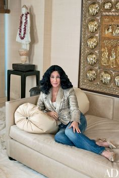 Cher's Los Angeles High-Rise Features Decor from Around the World Photos | Architectural Digest