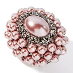 "Princess Amanda ""Tudor Portrait"" Simulated Pearl Ring at HSN.com. Now on sale CHEAP. Free shipping..  Only is size 5. A Steal! Only 5 left!"