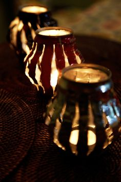 #DIY Lanterns using Soda Cans. #Upcycle This! 21 Things Made from Soda Cans
